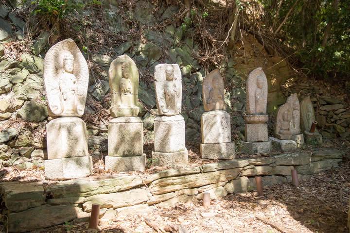 圓珠院墓地